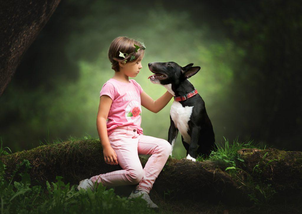 foto niños perros bilbao